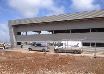 New hanger , Bristol airport